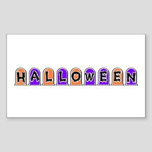 HALLOWEEN Rectangle Sticker