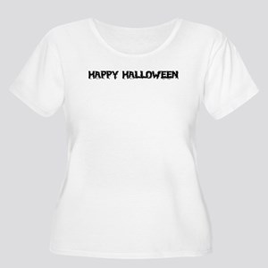 HALLOWEEN Women's Plus Size Scoop Neck T-Shirt