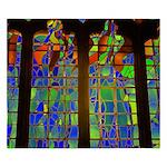 Technicolor Stained Glass King Duvet