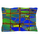 Technicolor Stained Glass Pillow Case