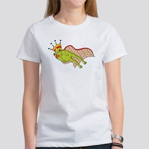 Leaping Frog Prince Women's T-Shirt