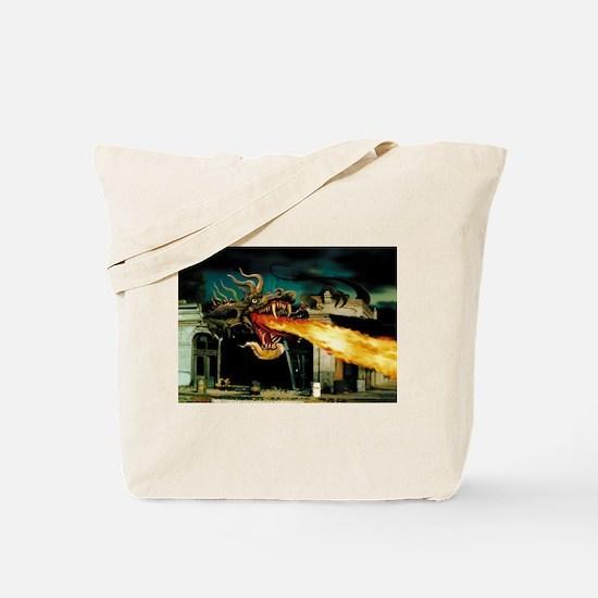 La Rue Dragon Tote Bag