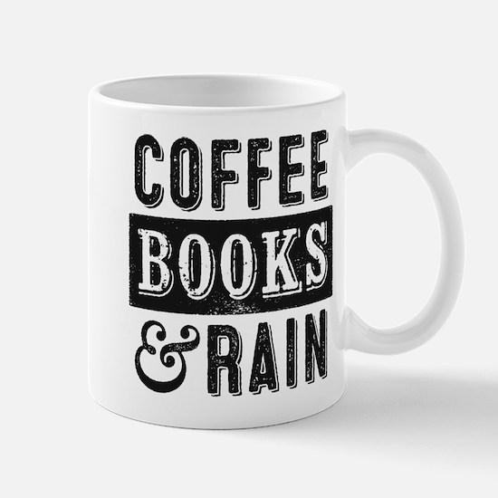 Coffee Books and Rain Mugs