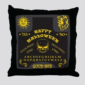Ouija Board - Halloween Edition Throw Pillow