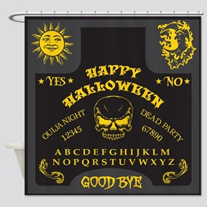 Ouija Board - Halloween Edition Shower Curtain