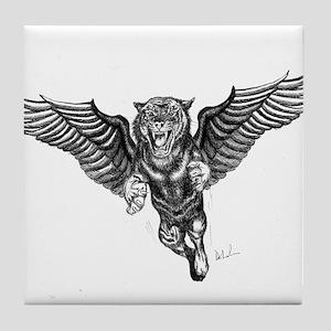 Flying Tiger Tile Coaster