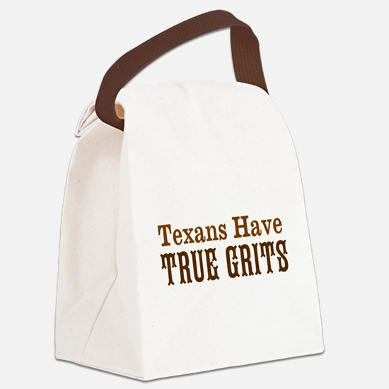 Texas Grits Canvas Lunch Bag