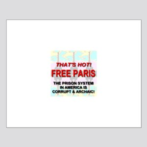 That's Hot! Free Paris Small Poster