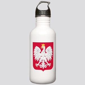 Poland Coat of Arms Stainless Water Bottle 1.0L
