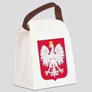 Poland Coat of Arms Canvas Lunch Bag
