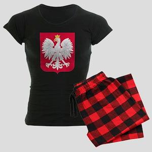 Poland Coat of Arms Women's Dark Pajamas