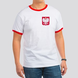 Poland Coat of Arms Ringer T