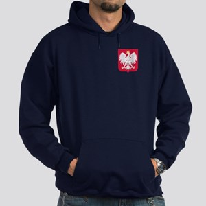 Poland Coat of Arms Hoodie (dark)