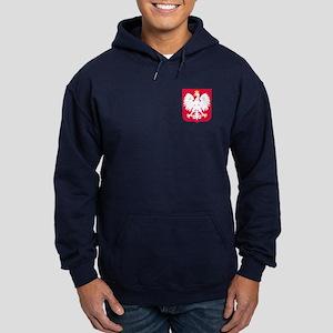 Poland Coat of Arms Hoodie (dark)