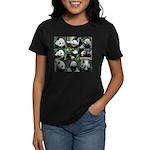 Bear collage Women's Dark T-Shirt