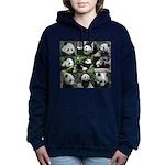 Bear collage Women's Hooded Sweatshirt