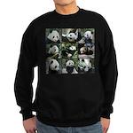 Bear collage Sweatshirt (dark)