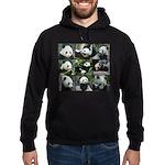 Bear collage Hoodie (dark)