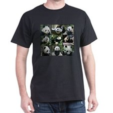 Bear collage Dark T-Shirt