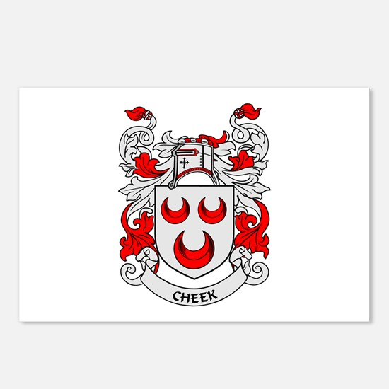 CHEEK Coat of Arms Postcards (Package of 8)