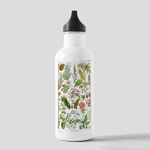 Botanical Illustration Stainless Water Bottle 1.0L
