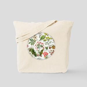 Botanical Illustrations - Larousse Plants Tote Bag
