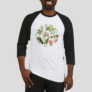 Botanical Illustrations - Larousse Baseball Jersey