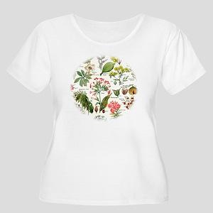 Botanical Ill Women's Plus Size Scoop Neck T-Shirt