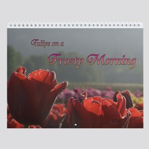 Tulip Morning Wall Calendar