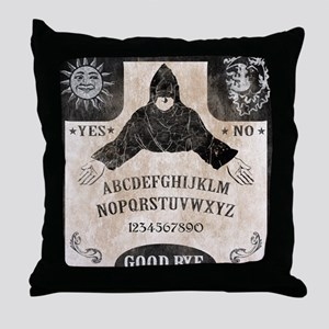 Vintage Ouija Board Throw Pillow