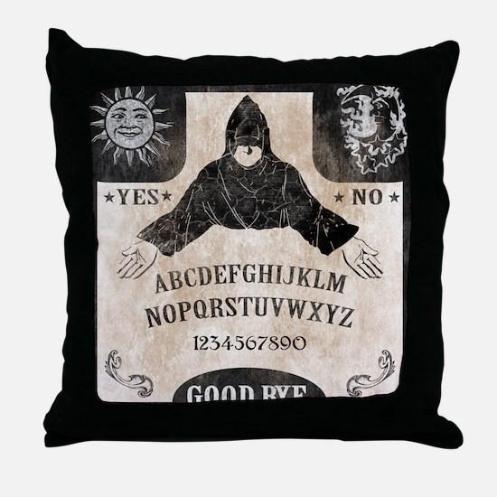 Vintage Ouija Board Throw Pillow