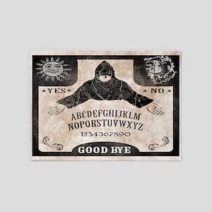 Vintage Ouija Board 5'x7'Area Rug