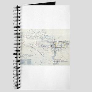 LA antique map. Journal
