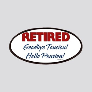 Retired Goodbye Tension Patches