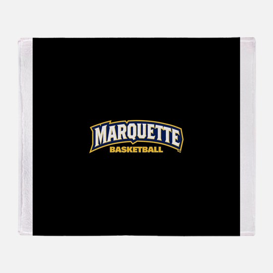 Marquette Golden Eagles Basketball Throw Blanket