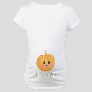 Lil' Punkin Maternity T-Shirt