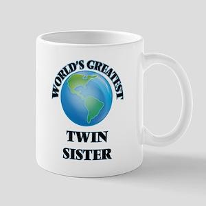 World's Greatest Twin Sister Mugs