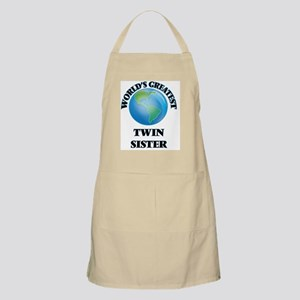 World's Greatest Twin Sister Apron