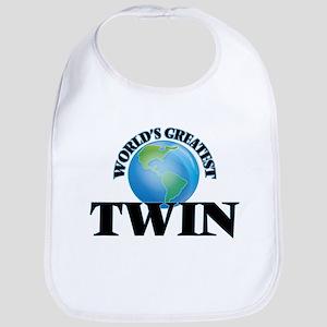 World's Greatest Twin Bib