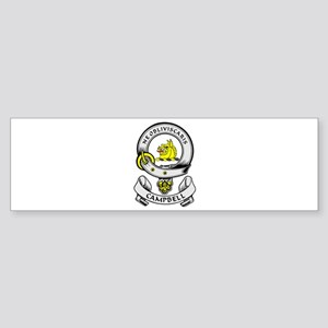 CAMPBELL 1 Coat of Arms Bumper Sticker