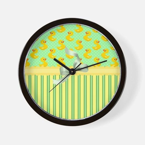 Rubber Ducky's Wall Clock