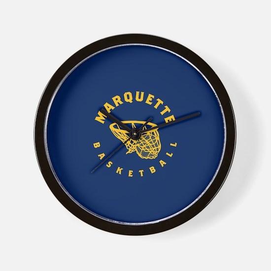 Marquette Golden Eagles Basketball Wall Clock