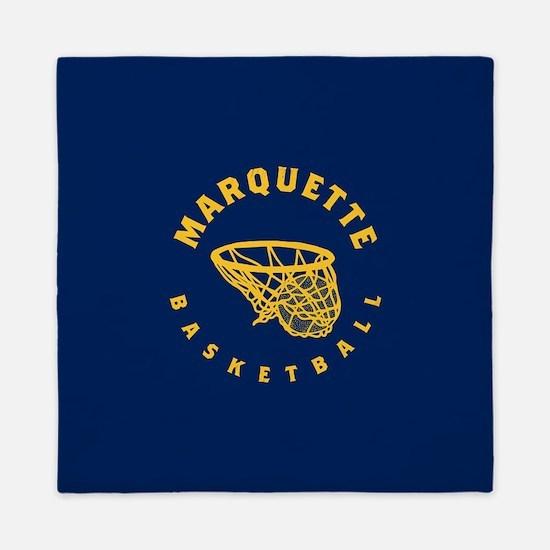 Marquette Golden Eagles Basketball Queen Duvet