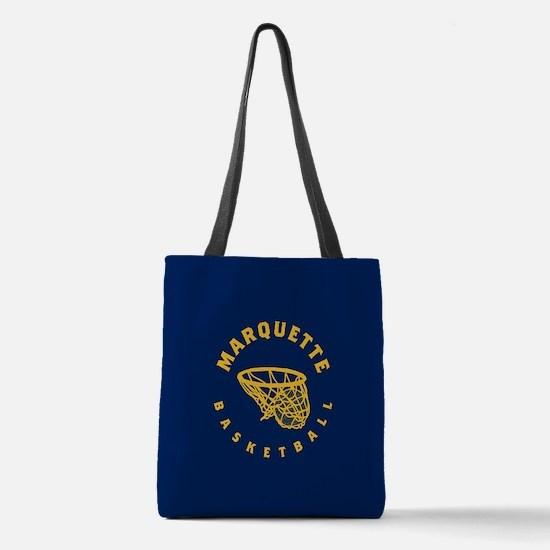Marquette Golden Eagles Basketb Polyester Tote Bag