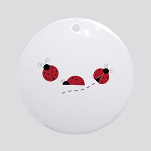 Ladybugs Ornament (Round)