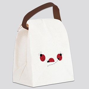 Ladybugs Canvas Lunch Bag