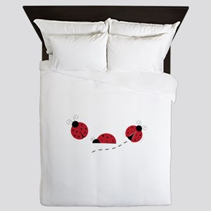 Ladybugs Queen Duvet