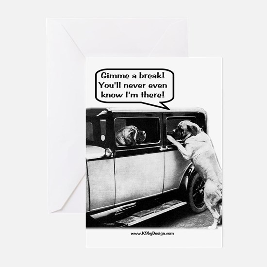 Gimme a break Greeting Cards (Pk of 10)