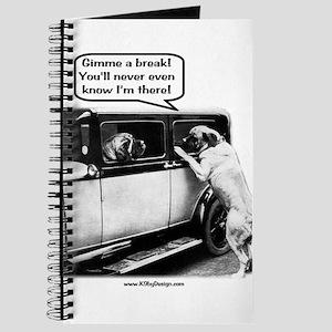 Gimme a break Journal
