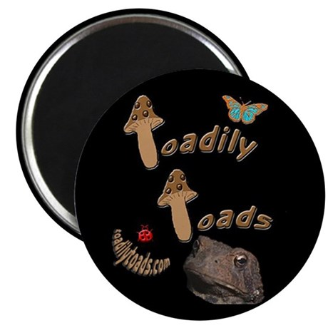 Toadily Toads magnet